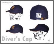BARAKUDA CAP - die Schirmmütze für Wassersportler