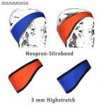 BARAKUDA Stirnband aus 3 mm Highstretch-Material für Wassersportler