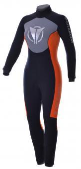 BARAKUDA Husky HTR 5 mm Damen-Halbtrockentauchanzug mit Rücken-Reißverschluss