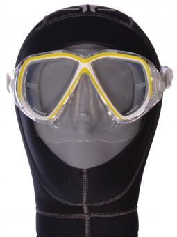 SOPRAS SUB Tauchermaske Brava Farbe Gelb
