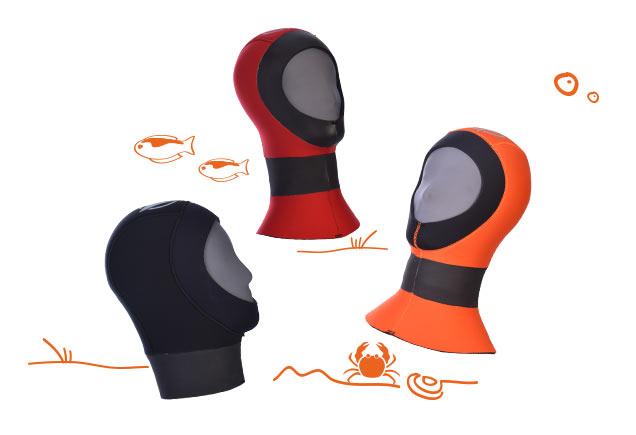 Barakuda Kopfhauben-Kollektion
