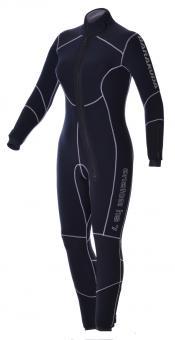Barakuda Anatom FZ HS 7 mm Damen-Halbtrockentauchanzug mit Kragen (Front-RV)
